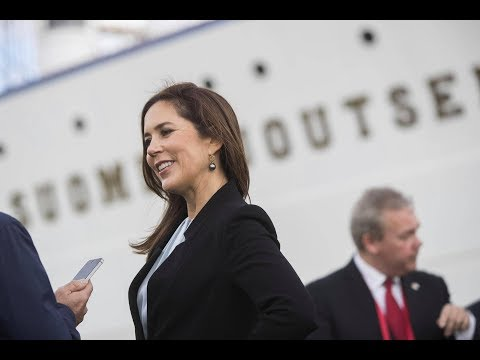 Crown Princess Mary ends Finnish visit on legendary ship