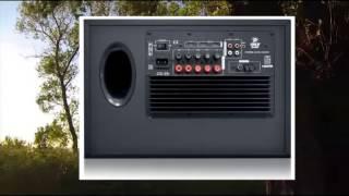 Pyle PT678HBA Bluetooth 5.1 Channel HDMI Home Theater System, 400 Watt, AM FM Tuner, Subwoofer &