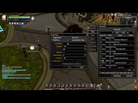 Dragon Nest SEA Rune Dragon Nest HC Service 4 Man Gladiator Pov