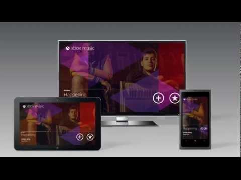 E3 2012: Xbox Music