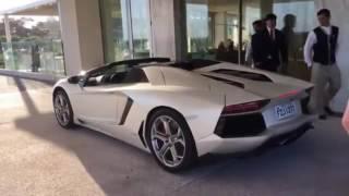Lamborghini Aventador Roadster y Ferrari FF en Punta del Este - Autoblog.com.ar