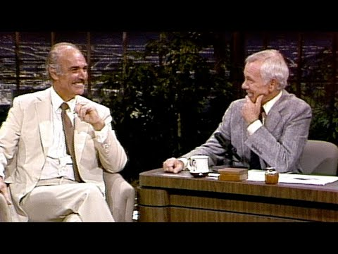 Sean Connery Talks About Playing James Bond Again After 12 years, on Carson Tonight Show - Part 01