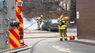 04.02.2015 Car fire on E. State Street