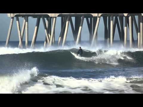 Surfing HB Pier | March 23rd | 2016