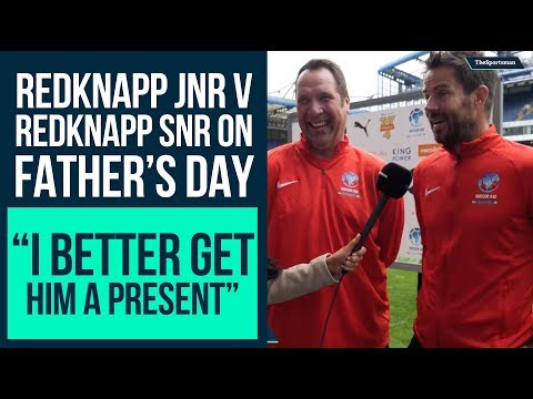 Jamie Redknapp On Father's Day Challenge, Jamie Carragher, Harry's Heroes Series 2 | Soccer Aid 2019