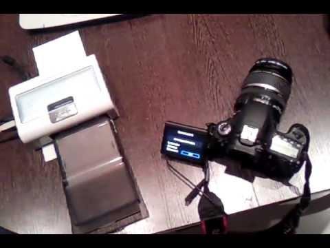 Печать с Canon 60D