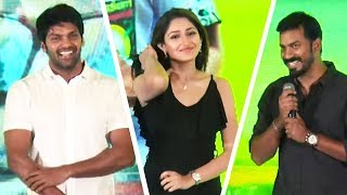 Ghajinikanth First Single Launch  | Arya | Sayyeshaa | Karunakaran