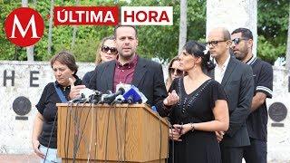Hijos de José José dan conferencia de prensa