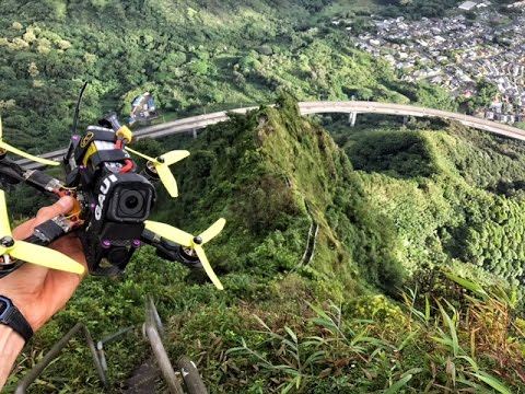 "Mr Steele's Drone vs Haiku Stairs ""Stairway to Heaven"""