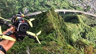 "Mr Steele's Drone vs Haiku Stairs ""Stairway to Heaven"""