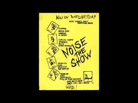 Noise the Show WNYU 89.1 1981 Top 15 Hardcore Punk Songs