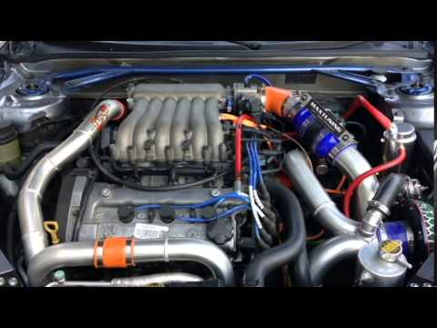 2004 Tiburon V6 Twin Turbo Fujitsubo Exhaust Sound Youtube