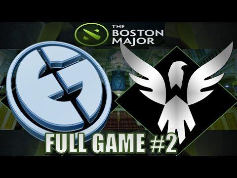 Evil Geniuses VS Wings Gaming #2 | Boston Major | Dota 2 Full Game