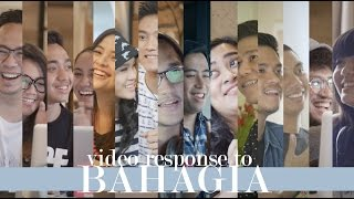 Video Response of BAHAGIA MV by Gamaliel Audrey Cantika