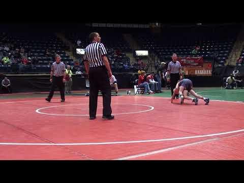 Gio DiSabato vs Dietrich Boysel 2013 OAC Junior High State (3rd Place) 74 lbs