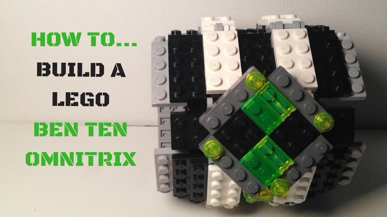 How to build a lego ben ten omnitrix how to make cool for How to cool things