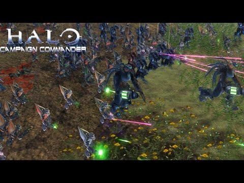 Covenant Attacks! Halo Campaign Commander - Star Wars Empire at War Mod