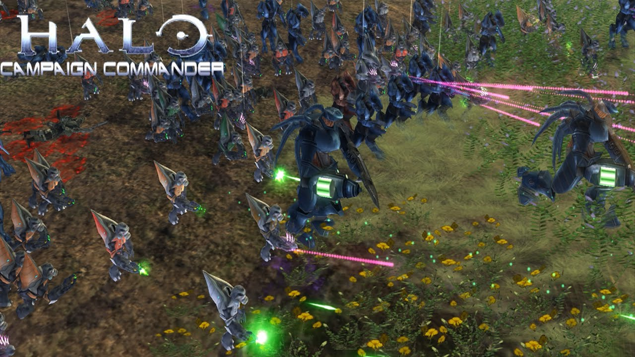 Covenant Attacks Halo Campaign Commander Star Wars Empire At War Mod Youtube