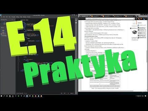 E.14 - Rozwiązanie arkusza 01.2017 (phpMyAdmin, PHP, MySQL)