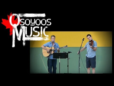"""Daniel Gervais """"Red Wing"""" LIVE at Osoyoos Music In The Park"""