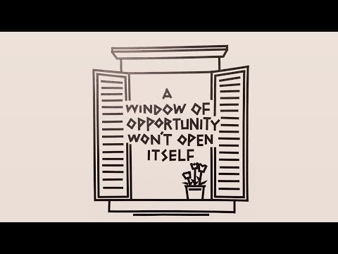 Tape wall time-lapse - Window of Opportunity
