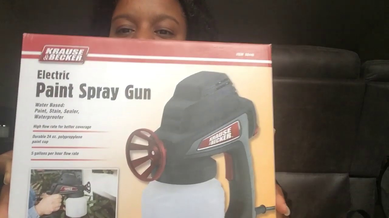 Harbor Freight Paint Sprayer Unboxing