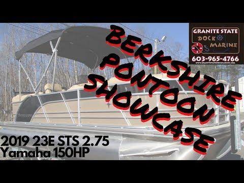 2019 Berkshire pontoon boat 2 75 hull package mercury 150