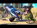 Zombie Smash  Road Kill - Android Racing Games Video Trailer Full HD