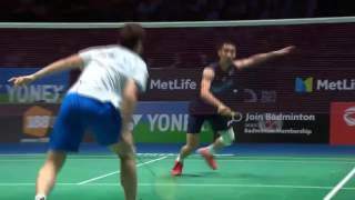 yonex all england open 2017 badminton f lee chong wei vs shi yuqi hd