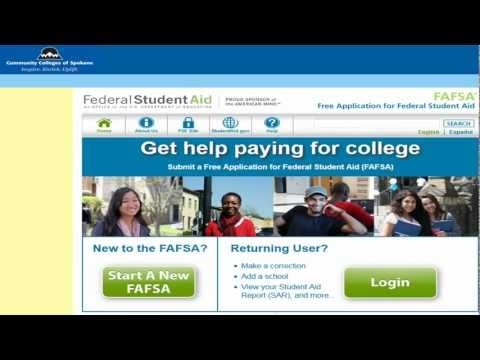 apply for fafsa online