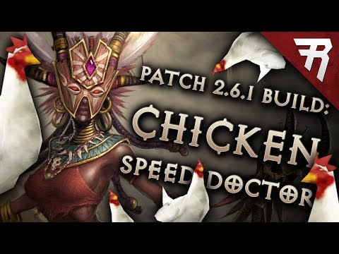 Diablo 3 Season 15 Witch Doctor Helltooth Chicken Speed build guide (and bounties) (Patch 2.6.1)