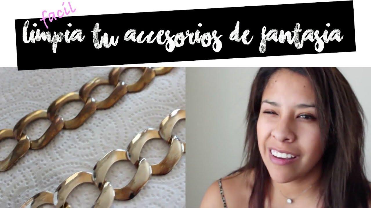 d513163e7298 Como limpiar tus accesorios de fantasia (DIY) JOYAS - YouTube