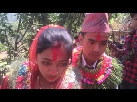 Happy Wedding in Magar Culture HD Nepali 2073