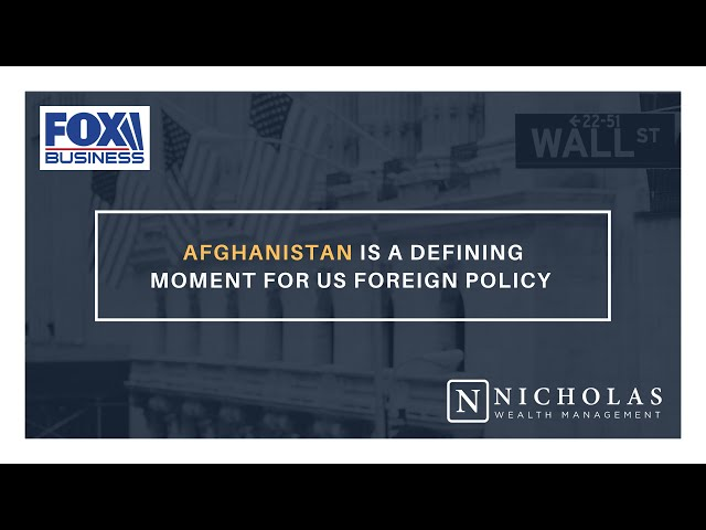 Afghanistan is a Defining Moment for US Foreign Policy