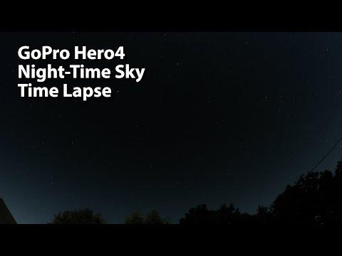 GoPro Hero4 - Night Stars Time Lapse Test
