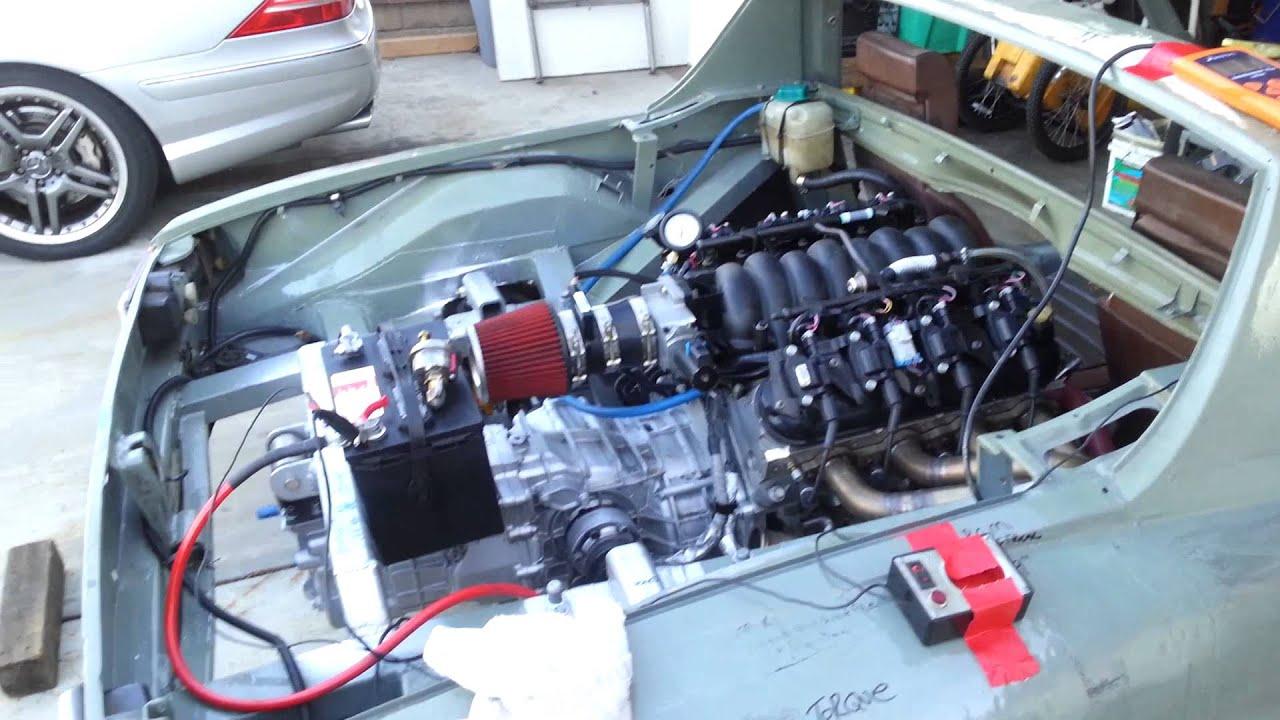 Porsche Mid Engine Ls6 G 50 5 Speed Youtube