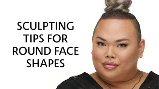 Sculpting for a Round Face Shape | Sephora