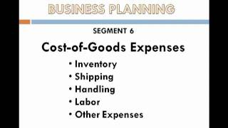 Segment 6   Expenses sales and Budget