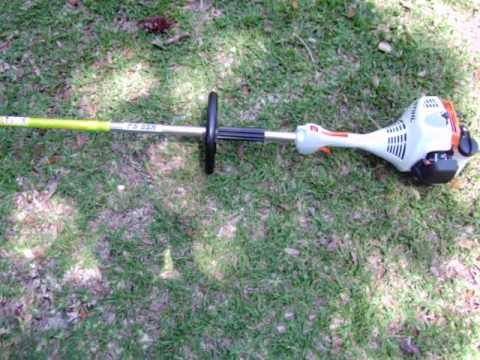 My Brand New Stihl Fs 55 R Trimmer