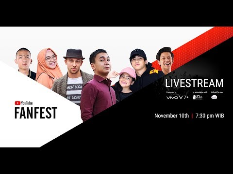 YouTube FanFest Indonesia 2017 - Livestream