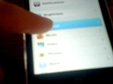 how to get a password on your ipod touch