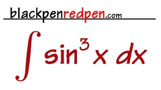 Integral of sin^3(x)