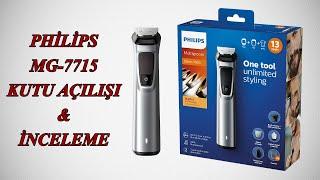 Philips Multigroom MG7715 Saç ve Sakal Tıraş Makinesi | Kutu Açılışı & Detaylı İnceleme