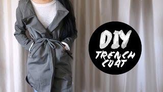 DIY Dress Pants into Trench Coat | Injoyy