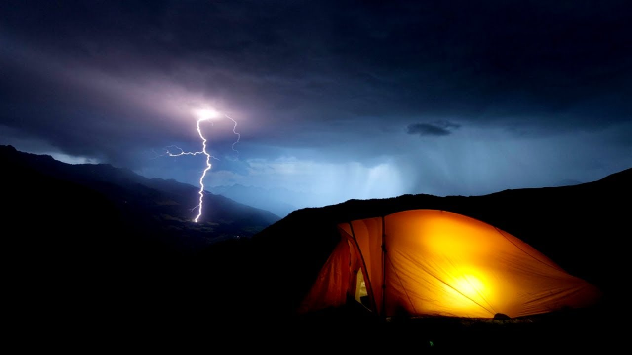 Black Screen Binaural Thunder and Rain Sounds from Tent in High Mountains : rain sounds on tent - memphite.com