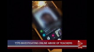 TTPS Investigating Online Abuse Of Teachers