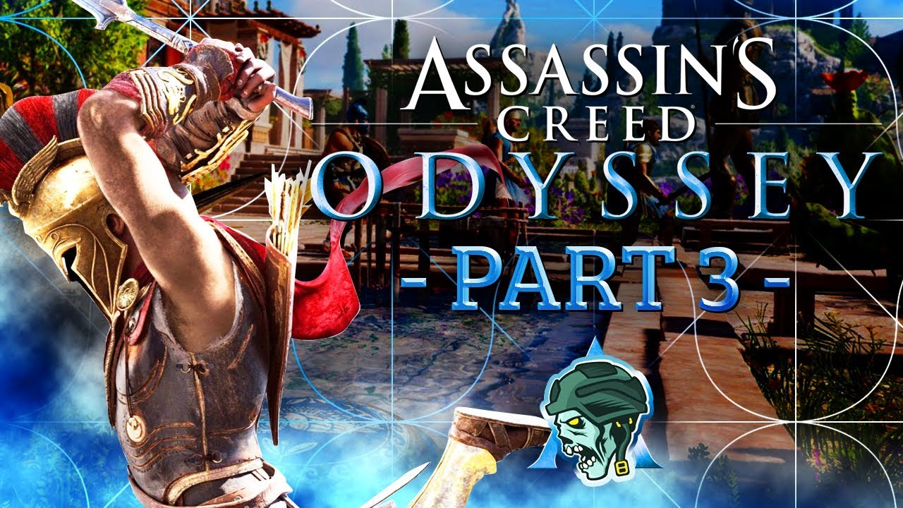 """Download Assassin's Creed Odyssey Walkthrough - Part 3 """"FOOTSTEPS OF GODS"""" (Let's Play)"""