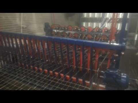 Оборудование для производства стеклопластиковой сетки шириной 2 метра