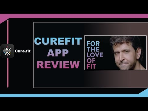 Cure fit App Review | Best Fitness App 2018 | Workout at Home