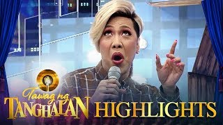Vice reenacts what got him to 2nd place in a singing contest | Tawag ng Tanghalan